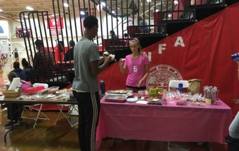 Dig Pink:  Girls' Volleyball Teams Play for a Cause