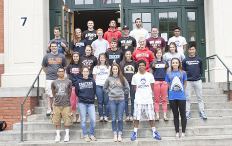 Seniors' Accepted into Colleges