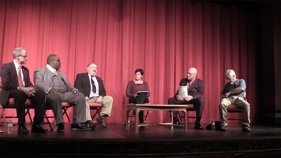 Norwich+Mayoral+Candidates+debating+in+NFA%27s+Slater+Auditorium.