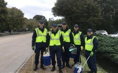 Coast Guard Members Create a Cleaner Community